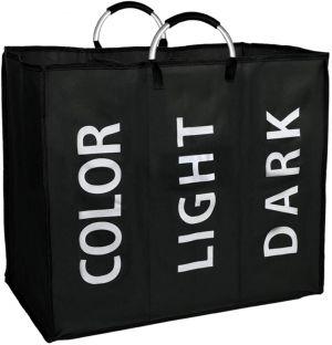 SPICOM Laundry Basket Clothes Bag Collapisable Laundry Hamper Folding Washing Storage Bin PE Coating Waterproof Texture