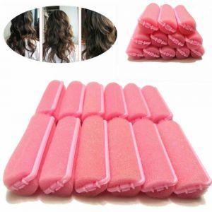 8 Pcs Salon Magic Sponge Foam Hair Rollers Curlers Cushion Styling Twist Tools