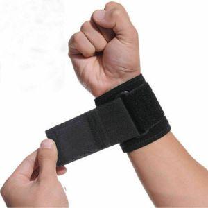 SPICOM Adjustable Hand Wrist Support Wrap Brace Sports Arthritis Tendon Sprain Black