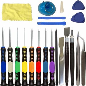 SPICOM 20 in 1 Mobile Phone Repair Spudger Tools Kit Pry Opening Tool Screwdriver Set